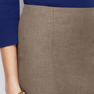 Ann Taylor All-Season Stretch Pencil Skirt, 10P